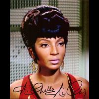 "Nichelle Nichols Autographed 8""x10"" (Star Trek - Lieutenant Uhura 1)"