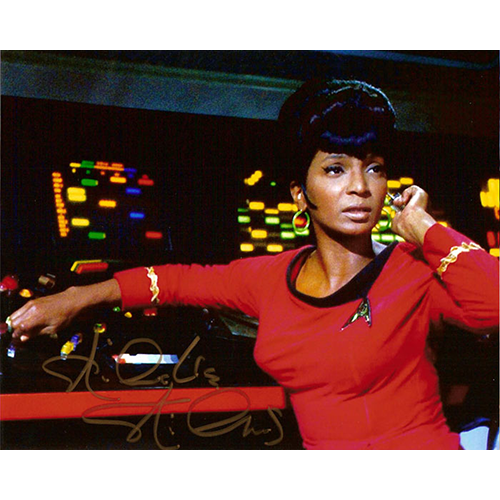 "Nichelle Nichols Autographed 8""x10"" (Star Trek - Lieutenant Uhura 2)"