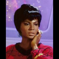 "Nichelle Nichols Autographed 8""x10"" (Star Trek - Lieutenant Uhura 3)"