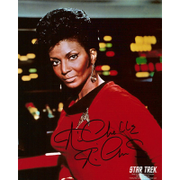 "Nichelle Nichols Autographed 8""x10"" (Star Trek - Lieutenant Uhura 4)"