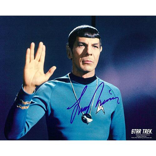 "Leonard Nimoy Autographed 8""x10"" (Star Trek - Spock 1)"
