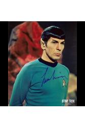 "Leonard Nimoy Autographed 8""x10"" (Star Trek - Spock 2)"