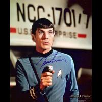 "Leonard Nimoy Autographed 8""x10"" (Star Trek - Spock 3)"
