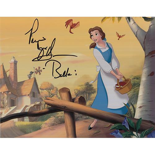 """Paige O'Hara Autographed 8""""x10"""" (Beauty & The Beast)"""