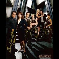 "James Olmos Autographed 8""x10"" (Battlestar Galactica 2)"