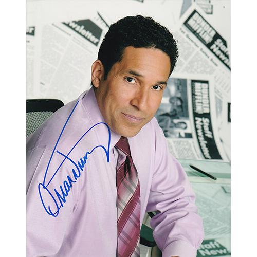 "Oscar Nunez Autographed 8""x10"" (The Office)"