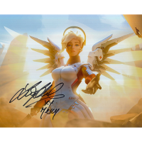 """Lucie Pohl Autographed 8""""x10"""" (Overwatch)"""