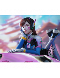 """Charlet Chung Autographed 8""""x10"""" (Overwatch)"""