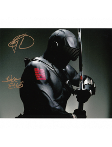 """Ray Park Autographed 8""""x10"""" (Snake-Eyes)"""