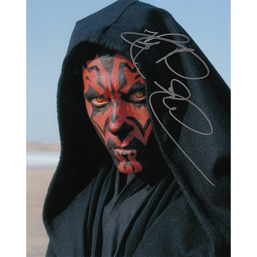 """Ray Park Autographed 8""""x10"""" (Star Wars)"""