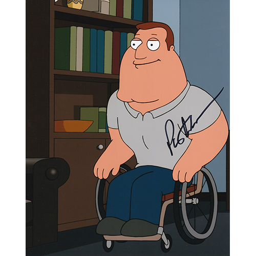 "Patrick Warburton Autographed 8""x10"" (Family Guy)"