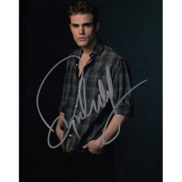 "Paul Wesley Autographed 8""x10"" (The Vampire Diaries)"
