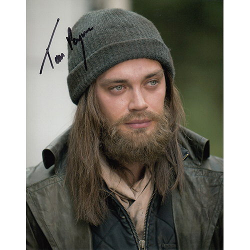 """Tom Payne Autographed 8""""x10"""" (The Walking Dead)"""