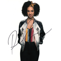 """Pearl Mackie Autographed 8""""x10"""" (Doctor Who)"""