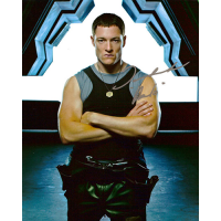 "Tahmoh Penikett Autographed 8""x10"" (Battlestar Galactica 1)"