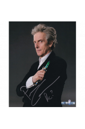 "Peter Capaldi Autographed 8""x10"" (Doctor Who)"