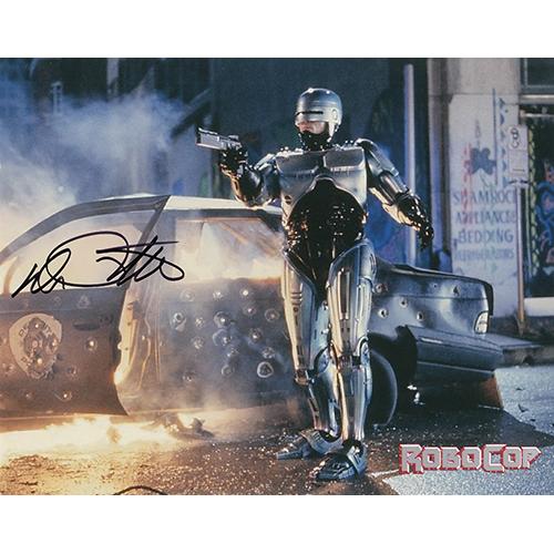 """Peter Weller Autographed 8""""x10"""" (Robocop)"""