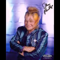 "Ethan Phillips Autographed 8""x10"" (Star Trek: Voyager 1)"