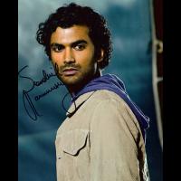 "Sandil Ramamurthy Autographed 8""x10"" (Heroes 1)"