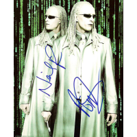 """Neil and Adrian Rayment Autographed 8""""x10"""" (The Matrix 1)"""