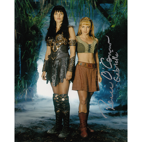 "Renee O'Connor Autographed 8""x10"" (Xena, Warrior Princess)"