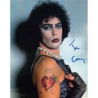 "Tim Curry Autographed 8""x10"" (Rocky Horror Picture Show)"