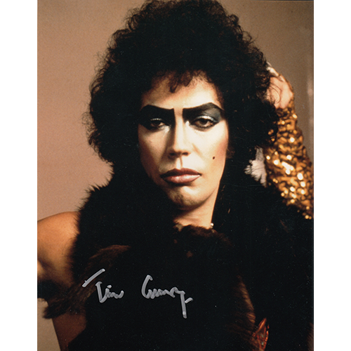 """Tim Curry Autographed 8""""x10"""" (Rocky Horror Picture Show)"""