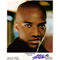 "J August Richards Autographed 8""x10"" (Angel 1)"
