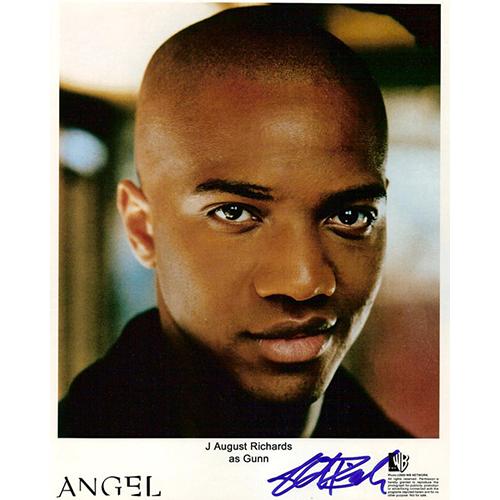 """J August Richards Autographed 8""""x10"""" (Angel 1)"""