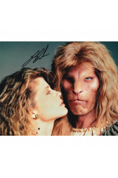 "Ron Perlman Autographed 8""x10"" (Beauty & The Beast)"
