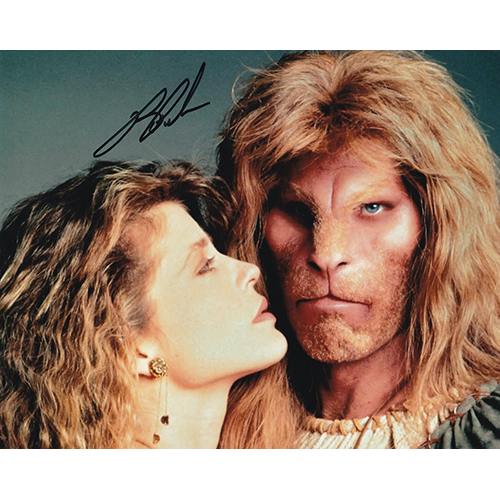 """Ron Perlman Autographed 8""""x10"""" (Beauty & The Beast)"""