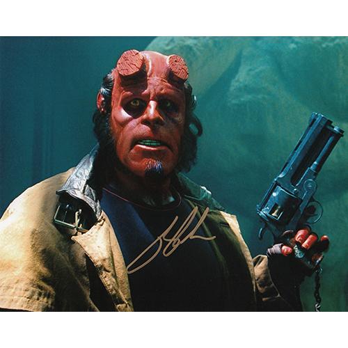 "Ron Perlman Autographed 8""x10"" (Hellboy)"