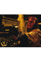 "Ron Perlman Autographed 8""x10"" (Hellboy)"