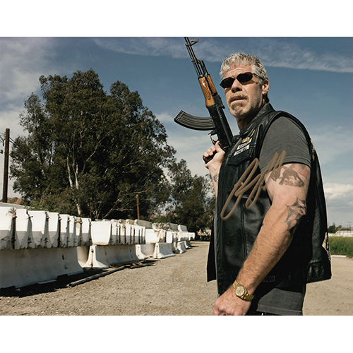 """Ron Perlman Autographed 8""""x10"""" (Sons of Anarchy)"""