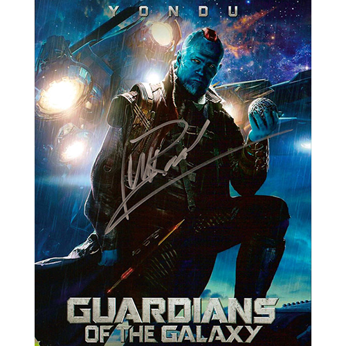 """Michael Rooker Autographed 8""""x10"""" (Gaurdians Of The Galaxy)"""