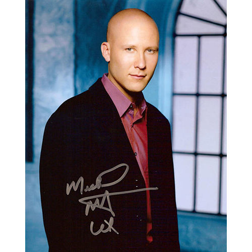"Michael Rosenbaum Autographed 8""x10"" (Smallville - Lex Luthor 3)"