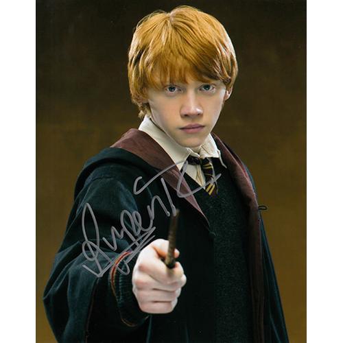 """Rupert Grint Autographed 8"""" x 10"""" (Harry Potter 3)"""