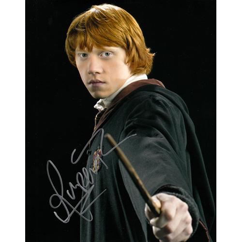 """Rupert Grint Autographed 8"""" x 10"""" (Harry Potter 4)"""