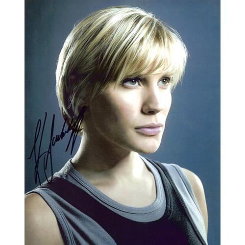 "Katee Sackhoff Autographed 8""x10"" (Battlestar Galactica 2)"