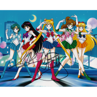 "Linda Ballantyne & Katie Griffin Autographed 8""x10"" (Sailor Moon)"