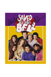 "Saved By The Bell Cast Autographed 8""x10"" (Saved By The Bell)"