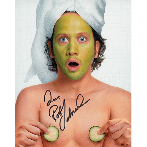 """Rob Schneider Autographed 8""""x10"""" (The Hot Chick)"""