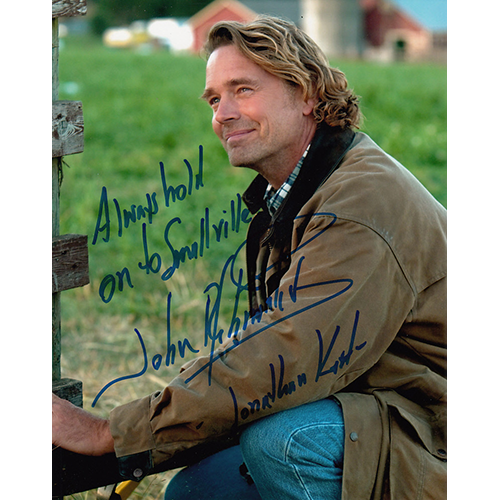 "John Schneider Autographed 8""x10"" (Smallville)"