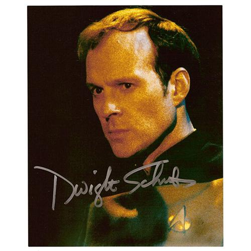 "Dwight Schultz Autographed 8""x10"" (Star Trek Voyager)"
