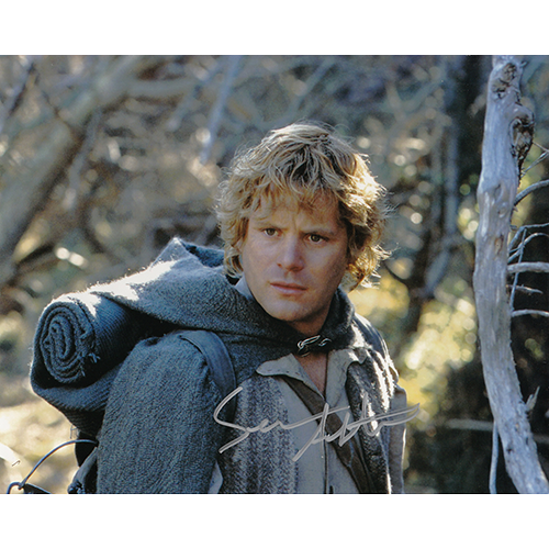 """Sean Astin Autographed 8""""x10"""" (Lord of the Rings)"""