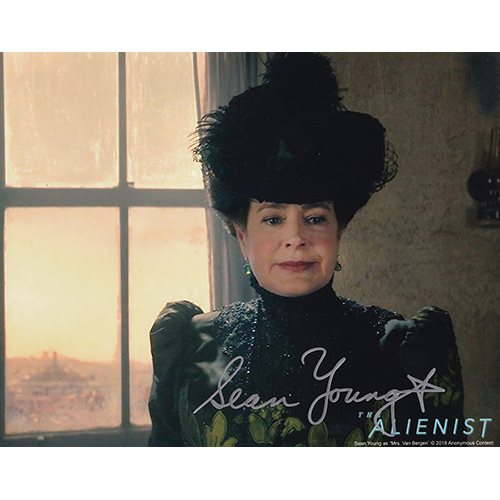 """Sean Young Autographed 8""""x10"""" (Alienist)"""