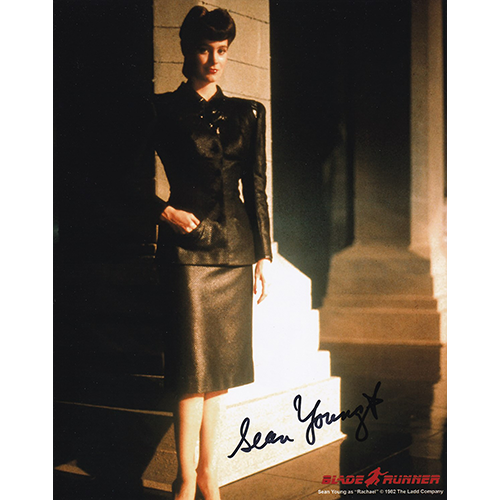 """Sean Young Autographed 8""""x10"""" (Blade Runner)"""