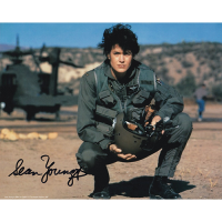 "Sean Young Autographed 8""x10"" (Fire Birds)"