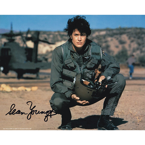 """Sean Young Autographed 8""""x10"""" (Fire Birds)"""