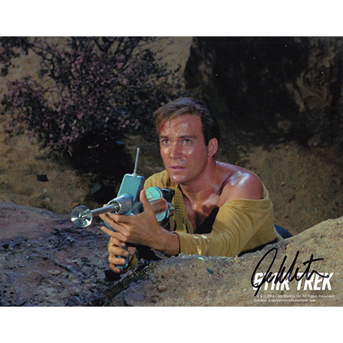 "William Shatner Autographed 8""x10"" (Star Trek)"
